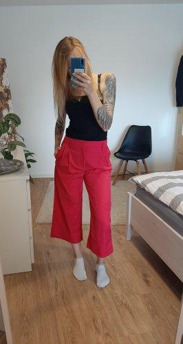 pinke Stoffhose 3/4 Hose von Zara