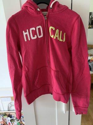 Pinke Sweatshirt Jacke!