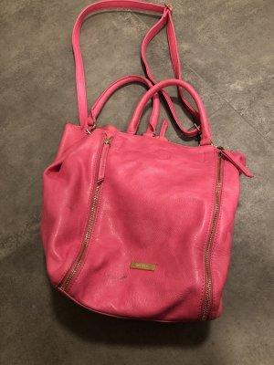 Pinke Tasche von Hallhuber