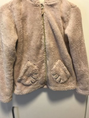 H&M Fleece Jackets light pink-black