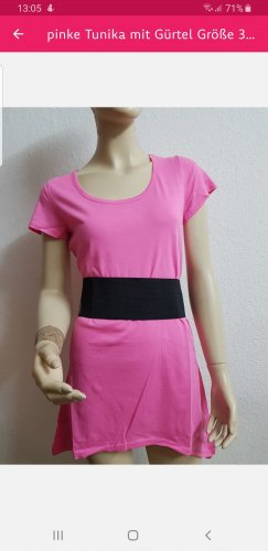 AJC Tunic black-pink