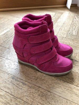 Graceland Wedge Sneaker pink