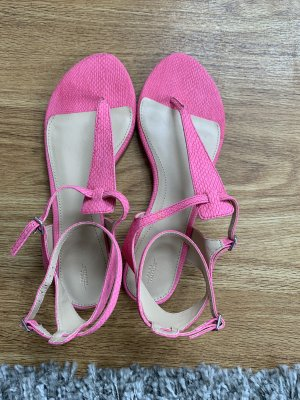 Zara Sandalo toe-post rosa