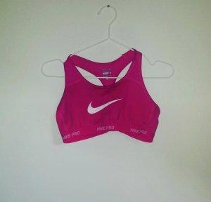 pinkener Sport-BH von Nike