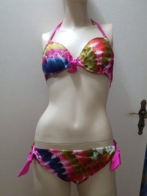 pinker bunter Bikini Größe 38 NEU - der nächste Sommer kommt bestimmt!