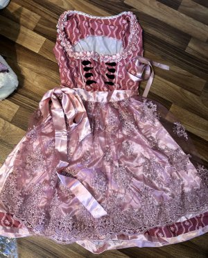 Vestido Dirndl rosa