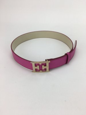 Escada Leather Belt pink