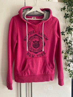 Hilfiger Denim Jersey con capucha rosa