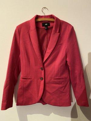 Pinker langer Blazer von H&M