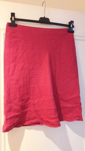 Pinker Leinenrock von H&M, Größe 34