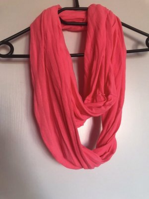Snood neon pink-pink textile fiber