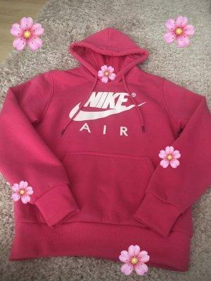 Nike Hooded Sweater raspberry-red