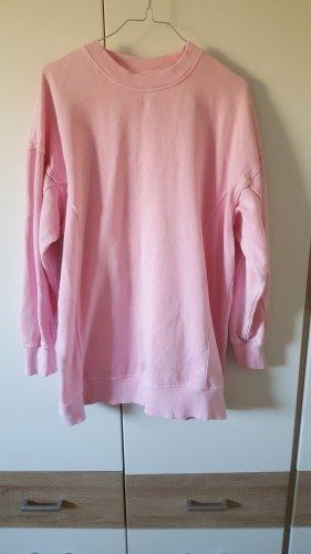 Pinker oversize Pullover