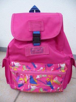 Zaino per la scuola rosa Sintetico