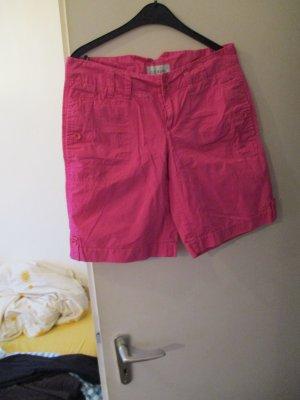 Esprit Pantaloncino a vita alta rosa
