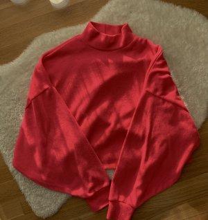 Bershka Oversized Sweater pink-magenta