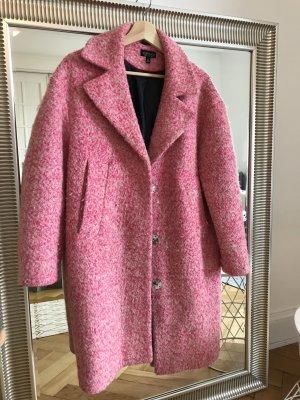 Topshop Oversized jas framboosrood-roze
