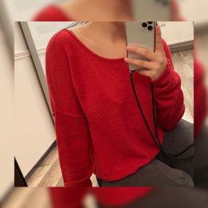 Pinker warmer Pullover