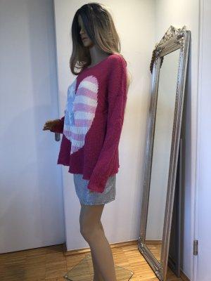 Pinker Wildfox Pullover in Größe S