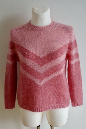Pinker Wollpullover