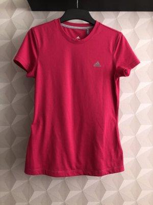 Adidas Sportshirt roze-grijs Polyester