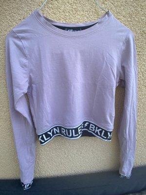 FB Sister T-shirt court rose clair