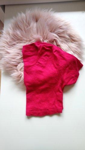 Cropped Shirt pink