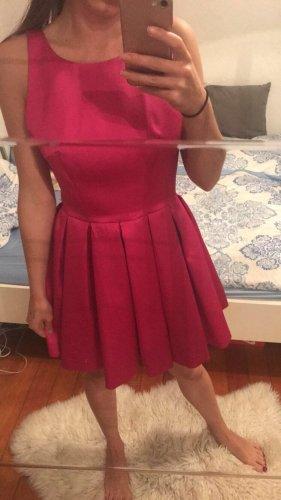 Asos vestido de globo rosa