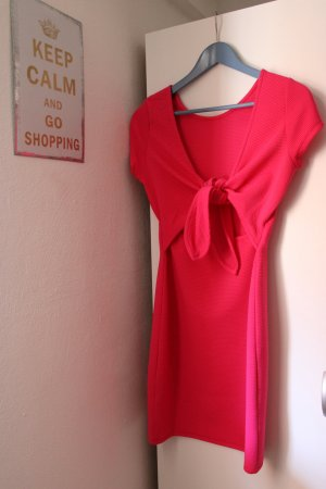 pinkes Kleid mit Schleife am Rücken von Lascana in Gr. XS
