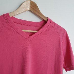 pinkes Laufshirt