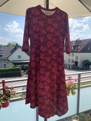 BAF Sukienka z dżerseju czarny-różowy