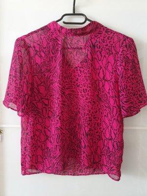 Pinkes, luftiges Top mit Muster