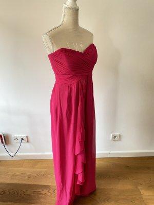 Nicole Miller Ball Dress raspberry-red-magenta viscose