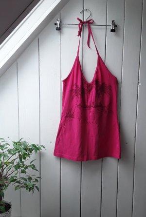 Pinkes Neckholdertop von H&M