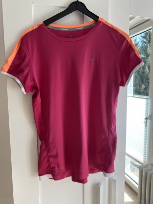 Nike Maglietta sport rosa-arancione