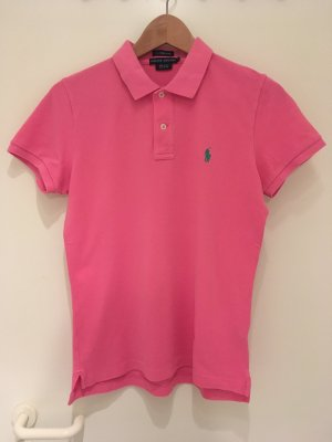 Pinkes Polo-Shirt *skinny* von Ralph Lauren in Größe 40 (L)