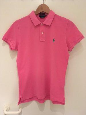 Pinkes Polo-Shirt ***skinny*** von Ralph Lauren in Größe 40 (L)