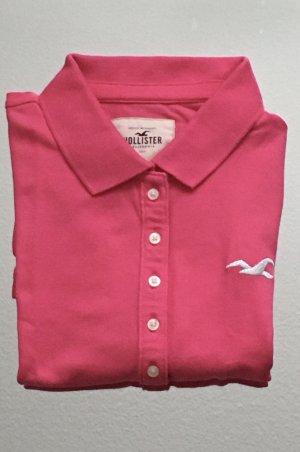 Pinkes Polo-Shirt von Hollister