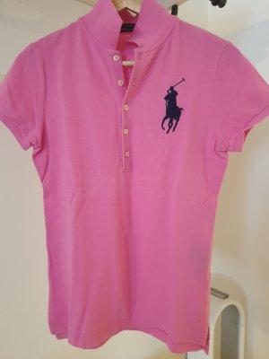 Pinkes Polo-Shirt von Ralph Lauren mit Big Pony - S