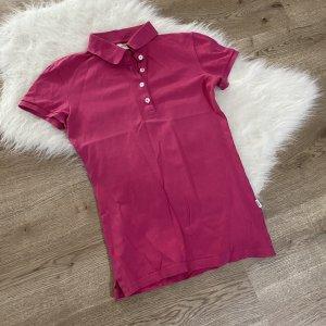 Pinkes Poloshirt