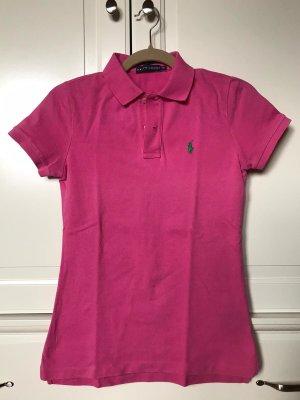 Pinkes Poloshirt Ralph Lauren