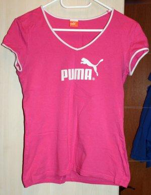 Pinkes Puma T-Shirt Gr. 38 für Sport/ Freizeit