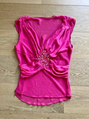 Silk Top multicolored silk