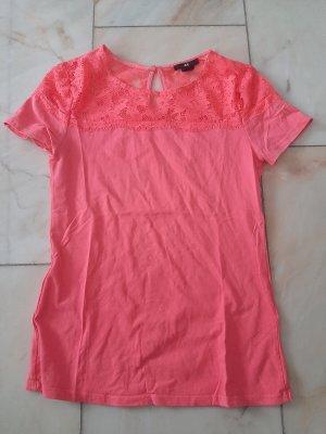 H&M Top de encaje rosa