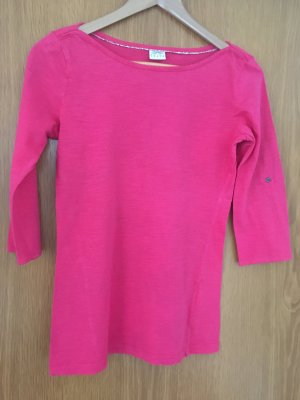 Pinkes Shirt mit Dreiviertel-Ärmeln