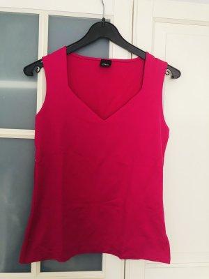 s.Oliver Selection T-shirt col en V magenta