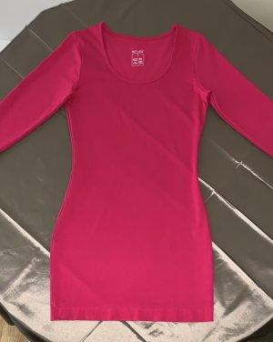 Pinkes Shirtkleid