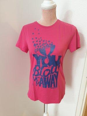 pinkes T-Shirt von Adidas Neo