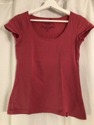 Pinkes T-Shirt von edc by Esprit in XS