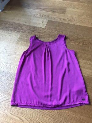 Tom Tailor Denim Blouse Top purple-violet